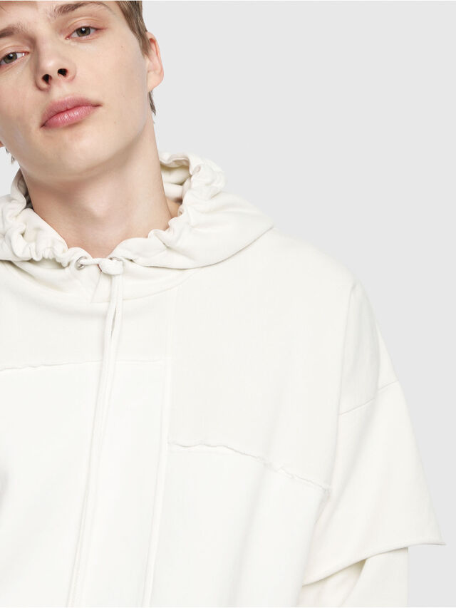 Diesel - S-TADAO, White - Sweaters - Image 3