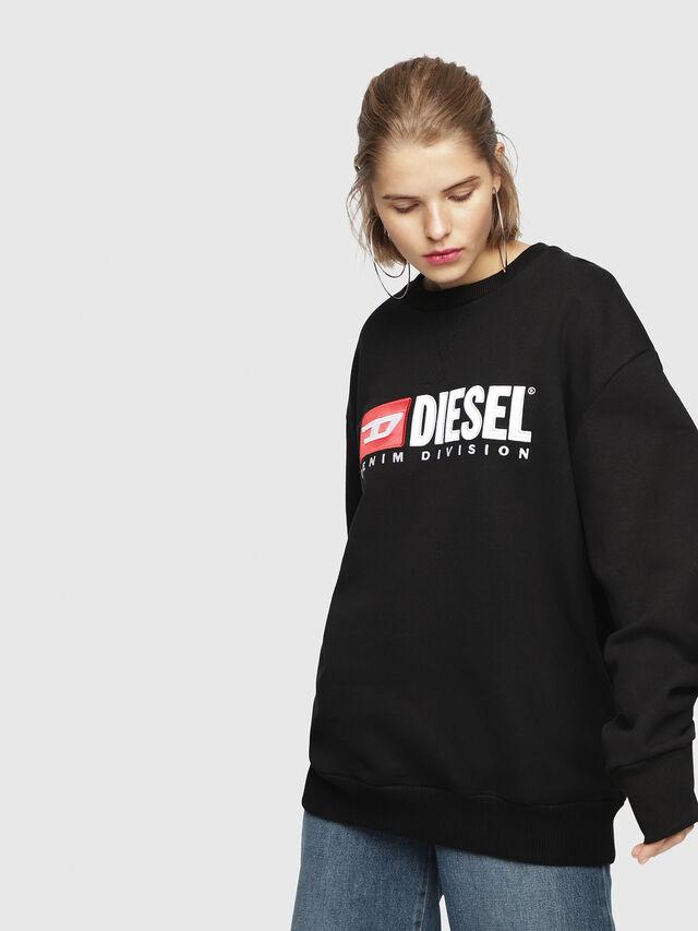 Diesel - F-ARAP, Black - Sweaters - Image 1