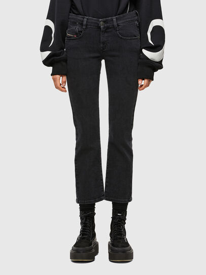 Diesel - D-Ebbey 0870G, Black/Dark grey - Jeans - Image 1