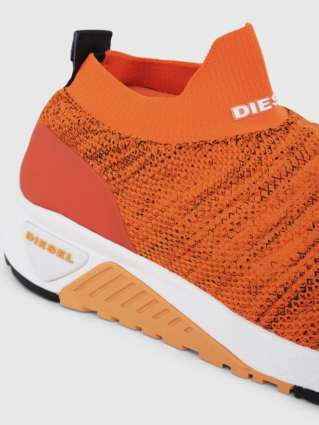 Diesel - S-KB ATHL SOCK, Orange - Sneakers - Image 4