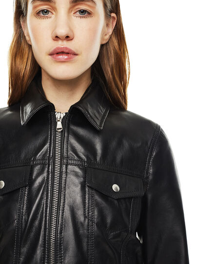 Diesel - LUCYLLE,  - Leather jackets - Image 4