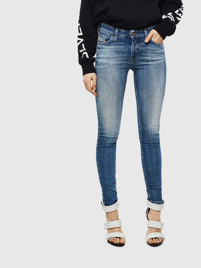 Diesel - Slandy 009CJ, Medium blue - Jeans - Image 1