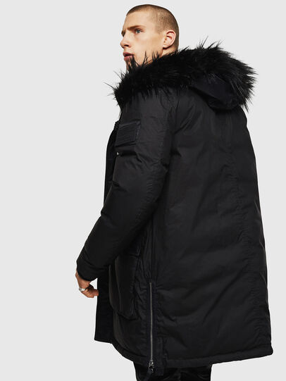 Diesel - W-BULLISK, Black - Winter Jackets - Image 5