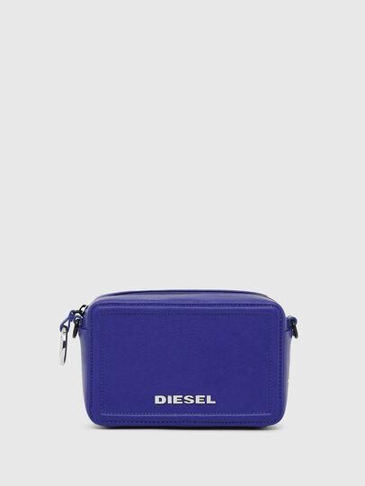 Diesel - ROSA' PC, Blue - Crossbody Bags - Image 1