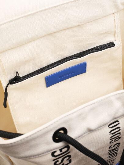 Diesel - VOLPAGO BACK, White - Backpacks - Image 4