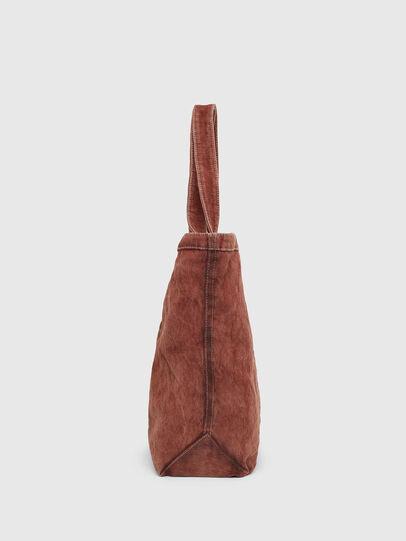 Diesel - GRANYTO SHOPPER M, Orange - Shopping and Shoulder Bags - Image 3