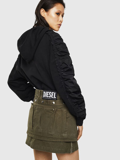 Diesel - O-LADEL, Military Green - Skirts - Image 2