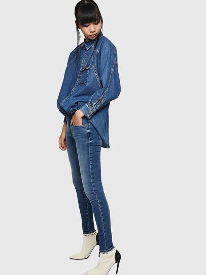 Diesel - Slandy Low 083AN, Medium blue - Jeans - Image 5