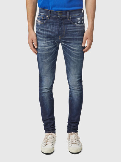 Diesel - D-Amny 09A85, Dark Blue - Jeans - Image 1