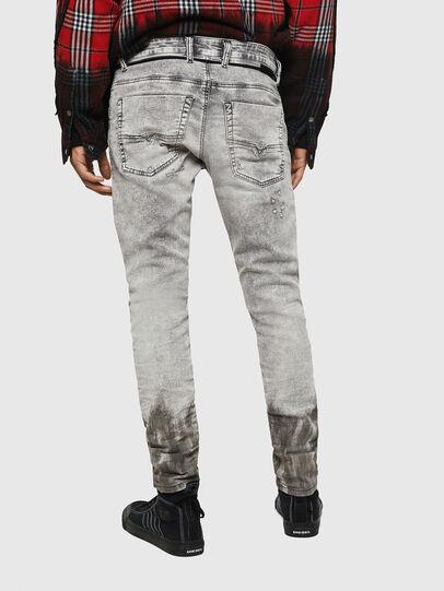 Diesel - Krooley JoggJeans 0091H, Light Grey - Jeans - Image 2