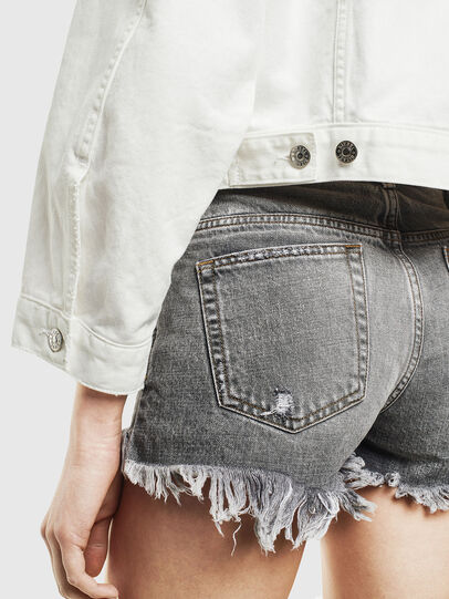 Diesel - DE-CATY, White - Denim Jackets - Image 5