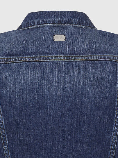 Diesel - DE-LIMMY, Dark Blue - Denim Jackets - Image 4