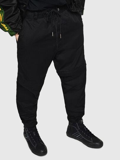 Diesel - P-CASHORT, Black - Pants - Image 1
