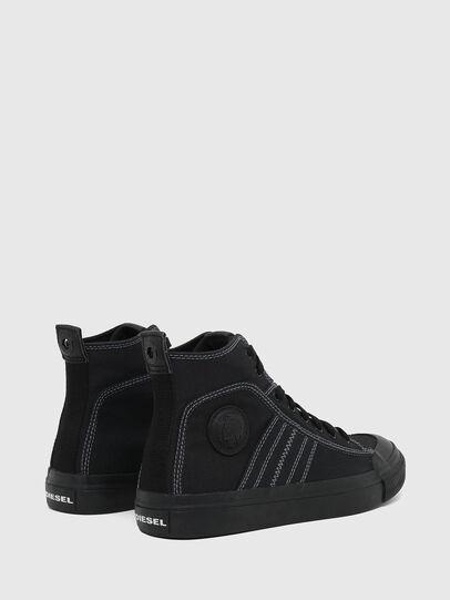 Diesel - S-ASTICO MID LACE, Black - Sneakers - Image 3