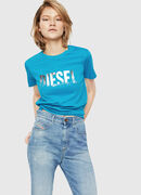 T-SILY-WH, Turquoise - T-Shirts