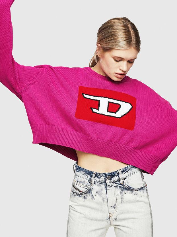 M-LINDA, Pink Fluo - Knitwear