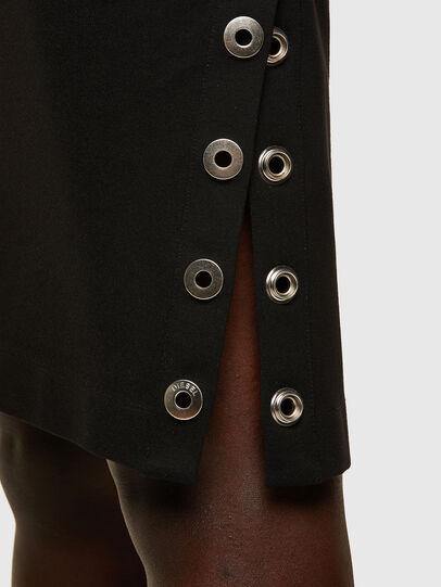 Diesel - D-CROLLER, Black - Dresses - Image 4
