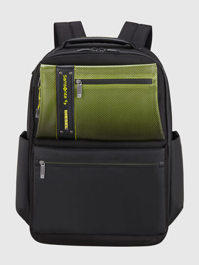 "Diesel - ""KB1*19002 - OPENROA, Black/Green - Backpacks - Image 1"