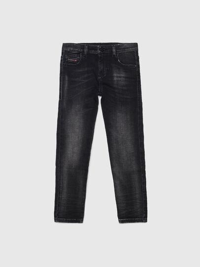Diesel - D-SLANDY-HIGH-J JOGGJEANS, Black/Dark grey - Jeans - Image 1