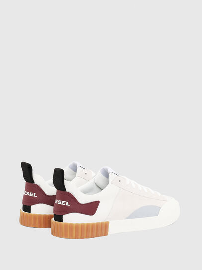 Diesel - S-BULLY LC, White/Red - Sneakers - Image 2