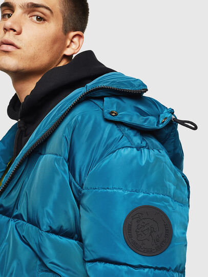 Diesel - W-SMITH-YA-WH, Blue Marine - Winter Jackets - Image 3