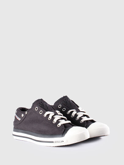 Diesel - EXPOSURE LOW W, Black - Sneakers - Image 2