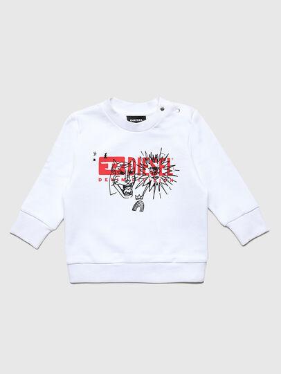Diesel - SUNGB, White - Sweaters - Image 1
