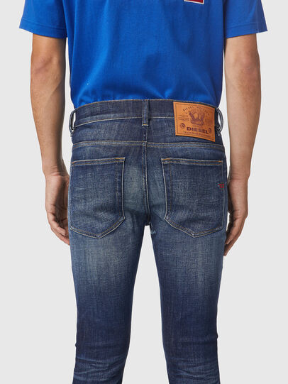 Diesel - D-Amny 09A85, Dark Blue - Jeans - Image 4