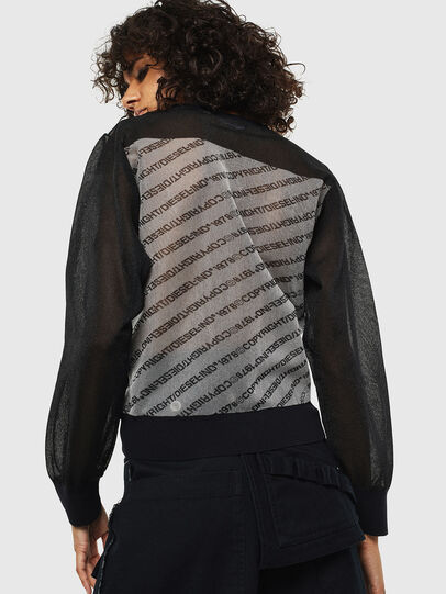 Diesel - M-COPI, Black/White - Knitwear - Image 2