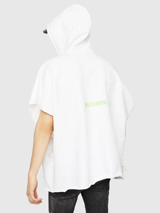 Diesel - S-MAKIKO, White/Black - Sweaters - Image 2