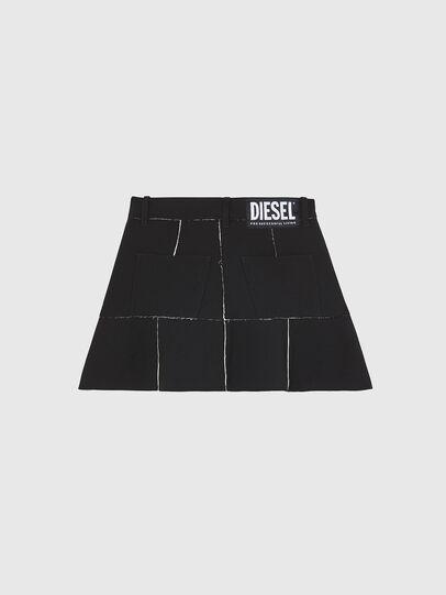 Diesel - O-BETH-B, Black - Skirts - Image 2