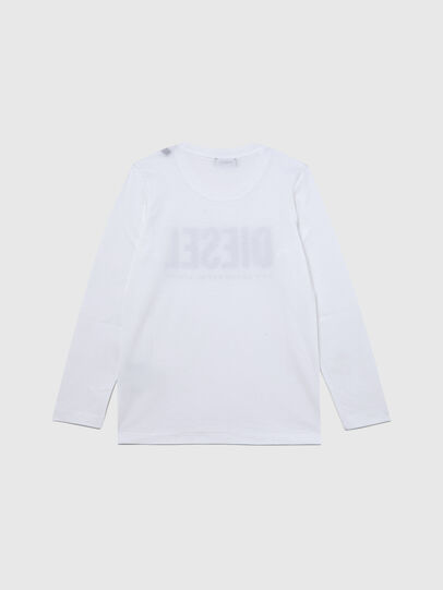 Diesel - TSILYWX ML, White - T-shirts and Tops - Image 2