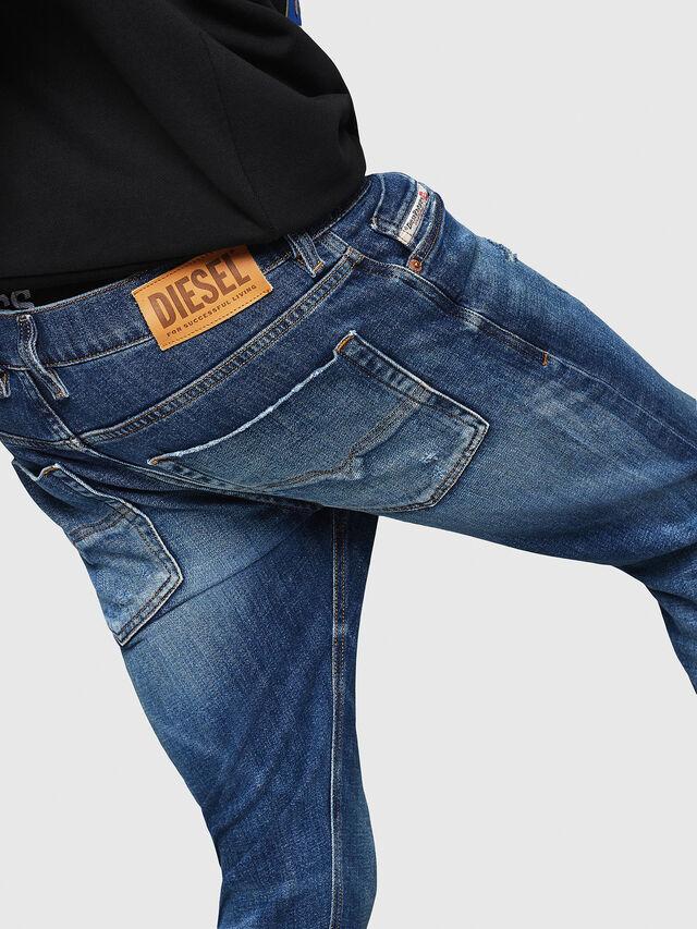 Diesel - Tepphar 0870H, Medium blue - Jeans - Image 5
