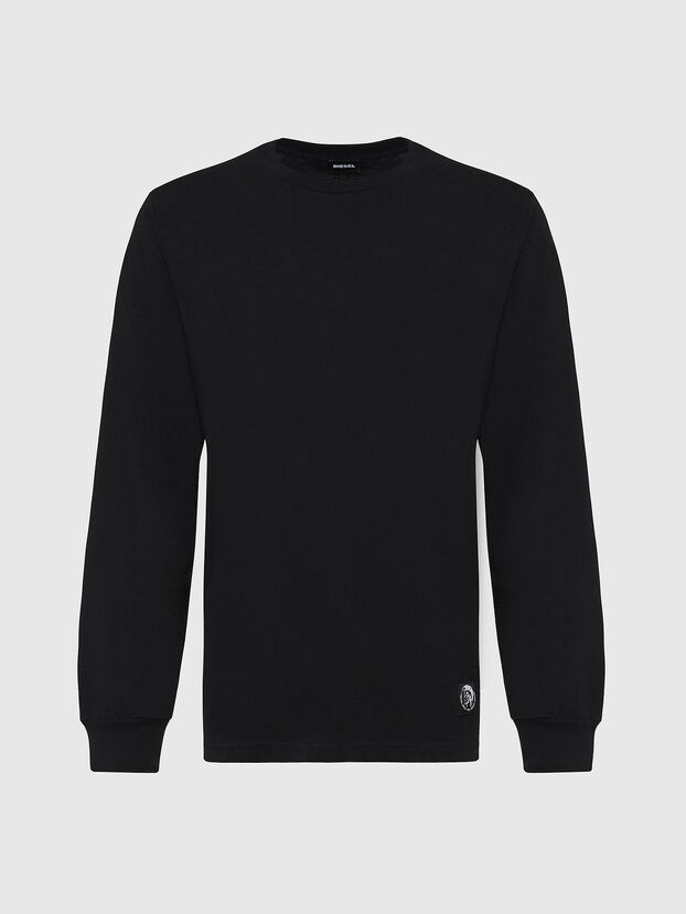 T-JUST-LS-MOHI, Black - T-Shirts