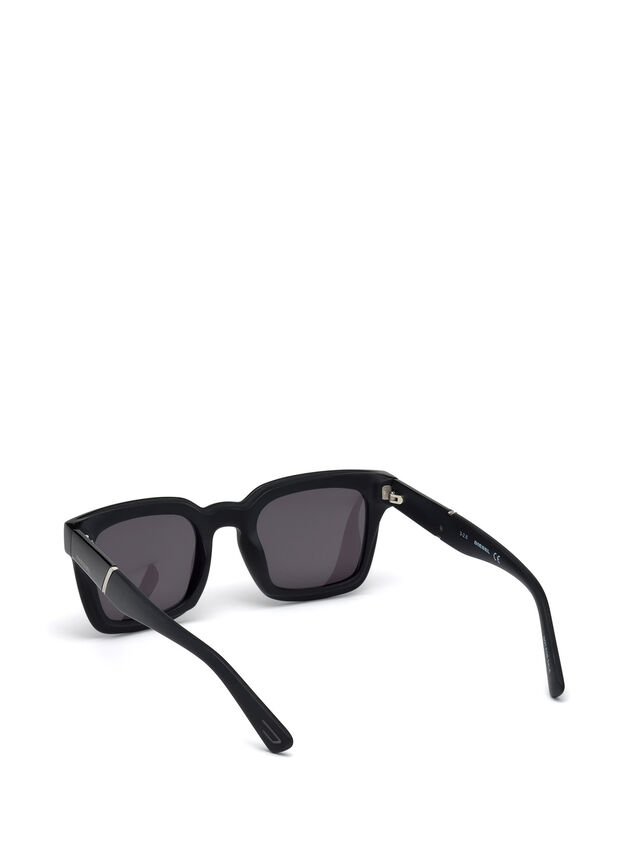 Diesel - DL0229, Black - Sunglasses - Image 4
