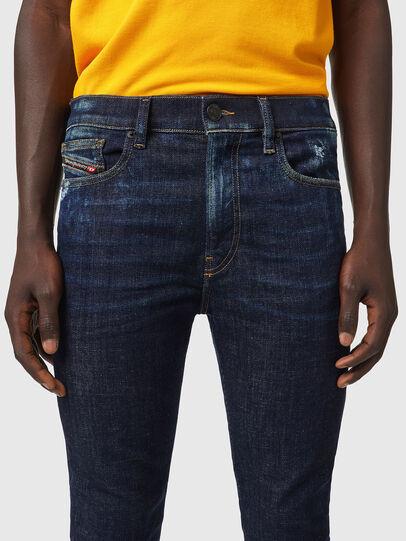 Diesel - D-Amny 09A84, Dark Blue - Jeans - Image 3