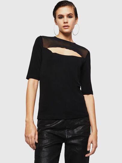 Diesel - TWISS, Black - Tops - Image 1