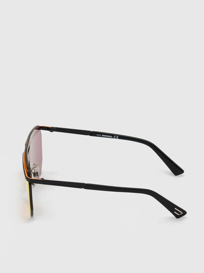 Diesel - DL0259, Orange/Black - Sunglasses - Image 2