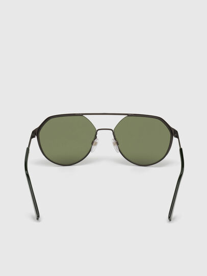 Diesel - DL0324, Black/Green - Sunglasses - Image 4
