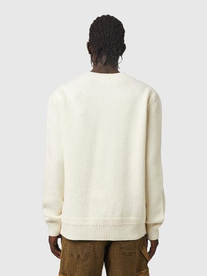 Diesel - K-FLINT, White - Knitwear - Image 2