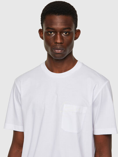 Diesel - T-JUST-WORKY, White - T-Shirts - Image 3