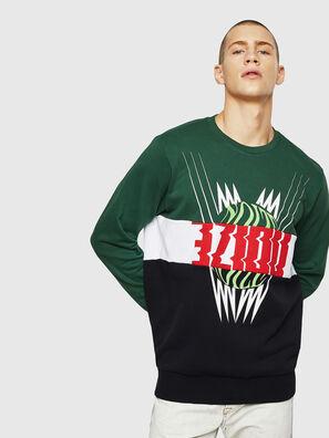 S-GIR-CUT, Green/Black - Sweaters