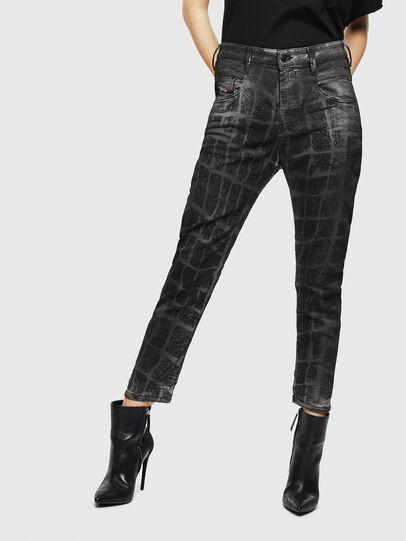 Diesel - Fayza JoggJeans 0094M, Black/Dark grey - Jeans - Image 1