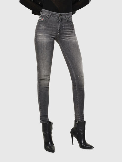 Diesel - Slandy 083AJ, Black/Dark grey - Jeans - Image 1