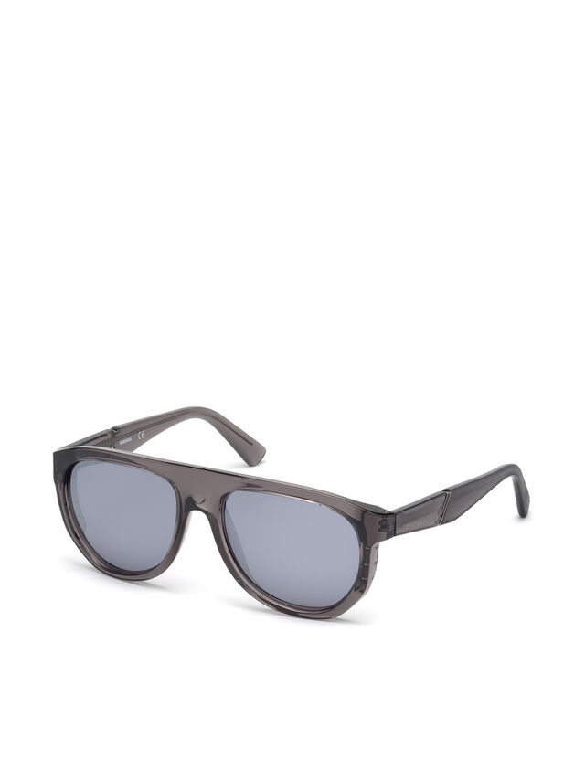 Diesel - DL0255, Grey - Sunglasses - Image 4