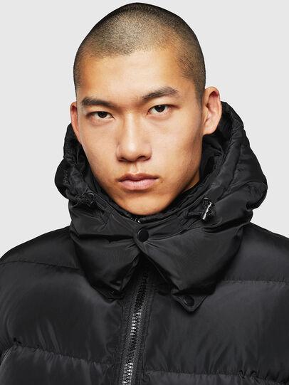 Diesel - W-SMITH-YA, Black - Winter Jackets - Image 4