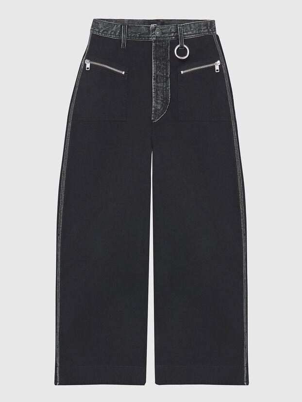 P-ACAY-DT, Black - Pants