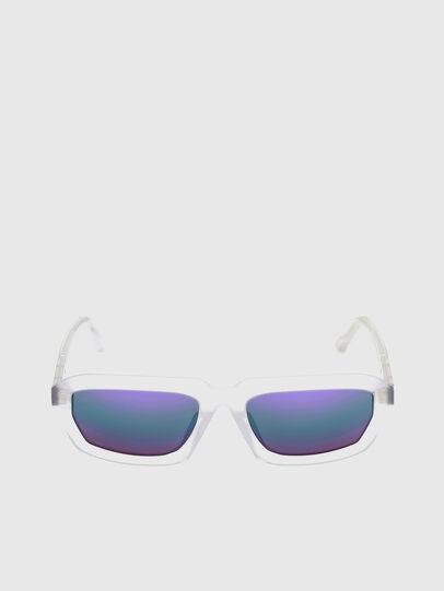 Diesel - DL0347, White - Sunglasses - Image 1