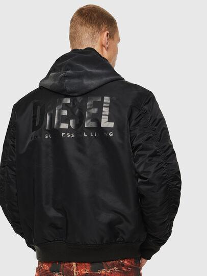 Diesel - J-ROSS-REV, Black - Jackets - Image 3