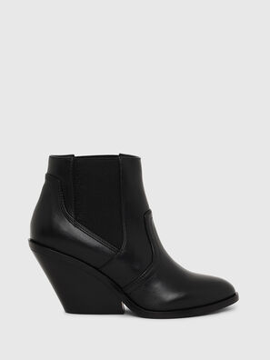 D-FLAMINGO CB, Black - Ankle Boots